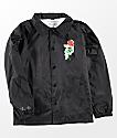 Primitive Heartbreakers chaqueta entrenador negra para niños