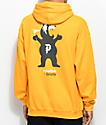 Primitive Mascot Yellow Hoodie
