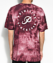Primitive Orbit Crystal Washed Burgundy T-Shirt