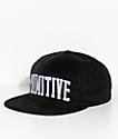 Primitive Premium Corduroy Black Snapback Hat