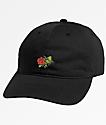 Primitive Rosebud Black Dad Hat