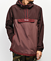 Primitive Taped Burgundy Anorak Jacket