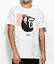 Primitive X Grizzly Bearhaus camiseta gris