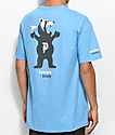 Primitive X Grizzly Mascot camiseta azul