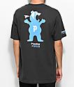 Primitive X Grizzly Mascot camiseta negra