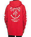 Primitive X Huy Fong Red Hoodie