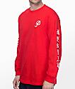 Primitive X Huy Fong camiseta roja de manga larga