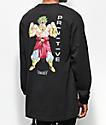 Primitive x Dragon Ball Z Broly camiseta negra de manga larga