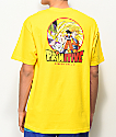 Primitive x Dragon Ball Z Circle Yellow T-Shirt