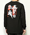 Primitive x Dragon Ball Z Collage Black Long Sleeve T-Shirt