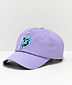 Primitive x Dragon Ball Z Dirty P Lightning gorra strapback de color lavanda