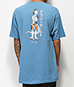 Primitive x Dragon Ball Z Frieza Mecha camiseta azul