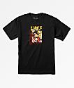 Primitive x Dragon Ball Z Goku Saiyan Black T-Shirt