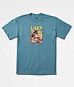 Primitive x Dragon Ball Z Goku Saiyan Blue T-Shirt