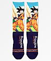 Primitive x Dragon Ball Z Goku calcetines en azul marino