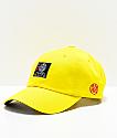 Primitive x Dragon Ball Z Goku gorra strapback reflectante en amarillo
