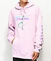 Primitive x Dragon Ball Z Nuevo Frieza sudadera rosa con capucha