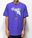 Primitive x Dragon Ball Z Nuevo Piccolo camiseta morada