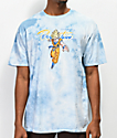 Primitive x Dragon Ball Z Nuevo Super Saiyan Goku Blue Washed T-Shirt
