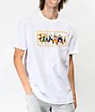 Primitive x Dragon Ball Z Nuevo camiseta blanca