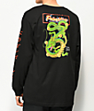 Primitive x Dragon Ball Z Shenron Club Black Long Sleeve T-Shirt