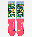Primitive x Dragon Ball Z Shenron Red Crew Socks
