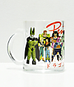 Primitive x Dragon Ball Z Villains taza de vidrio
