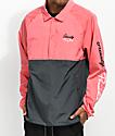 Primitive x Grizzly Pink & Black Anorak Jacket