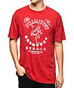 Primitive x Huy Fong Foods Red Acid Wash T-Shirt