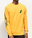 Primitive x Rick and Morty Pickle Rick Yellow Long Sleeve T-Shirt