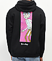 Primitive x Rick and Morty Rick Vortex Black Hoodie