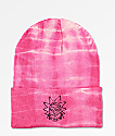 Primitive x Rick and Morty Vortex Rick Washed Pink Beanie