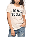 Prince Peter Collection Girl Squad Destructed Peach T-Shirt
