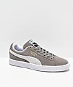 Puma Suede Classic+ Steeple zapatos en gris y blanco