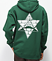 Pyramid Country Bananas Forest Green Hoodie