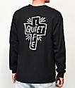 Quiet Life Sharpie Black Long Sleeve T-Shirt