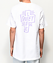 Quiet Life Sharpie Logo White T-Shirt