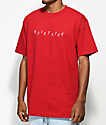 Quiet Life Stagger camiseta roja