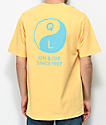 Quiet Life Yin Yang Pastel Orange T-Shirt