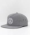 REBEL8 Blotch Grey Snapback Hat
