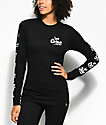 REBEL8 Coney Black Long Sleeve T-Shirt