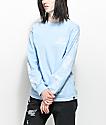 REBEL8 Rosemoor camiseta azul de manga larga