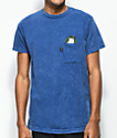 RIPNDIP Cat Nip Blue Wash Pocket T-Shirt