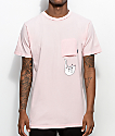RIPNDIP Falling For Nermal Pink T-Shirt