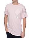 RIPNDIP Hang In There camiseta rosa con bolsillo