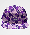 RIPNDIP Invisible Purple Camo Strapback Hat