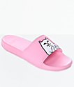 RIPNDIP Lord Nermal Pink Slide Sandals