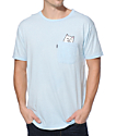 RIPNDIP Lord Nermal Pocket Light Blue T-Shirt