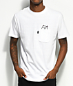 RIPNDIP Lord Nermal Pocket White T-Shirt
