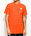 RIPNDIP Lord Nermal Safety Orange Pocket T-Shirt